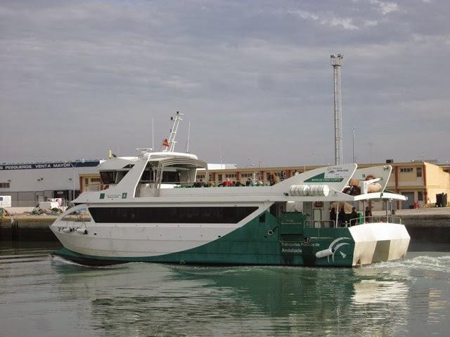 Nuestro gran paseo les bateaux d 39 el puerto de santa maria et de cadix - Autobus madrid puerto de santa maria ...