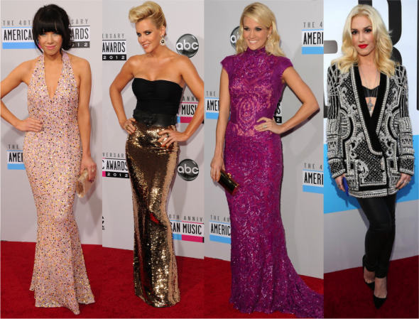 Glam and Fashion: Os looks do American Music Awards!