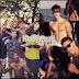 Justin Bieber: Sin camisa con su mánager y varios amigos en un barco!