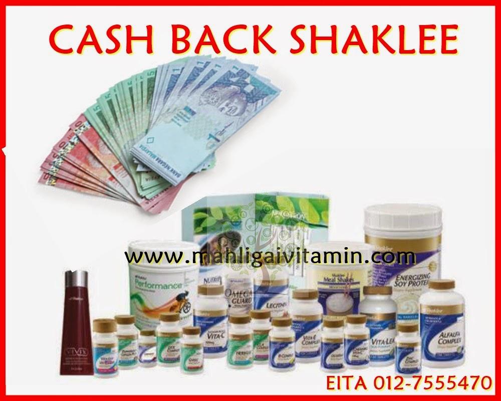 cash back shaklee