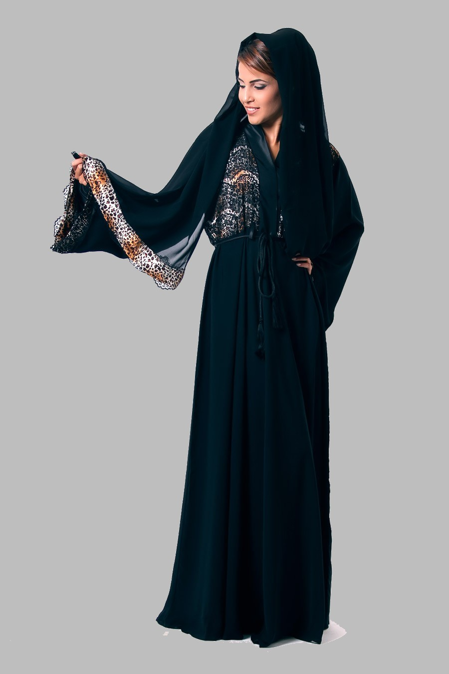 Hijab Dresses Uae Style 6 Busana Muslim Abaya Layla Phasmina Embroidered Designs 2013 Islamic Dress