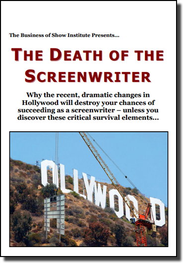 The Death of the Screenwriter