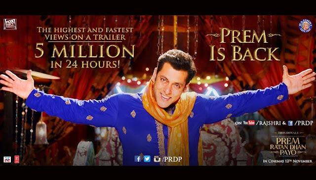 Prem Ratan Dhan Payo (2015) Watch Online Full Movie in HD Print