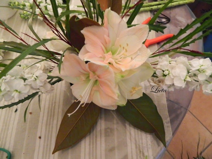 abbastanza LIETA CIMA: Una composizione di fiori invernale OQ81