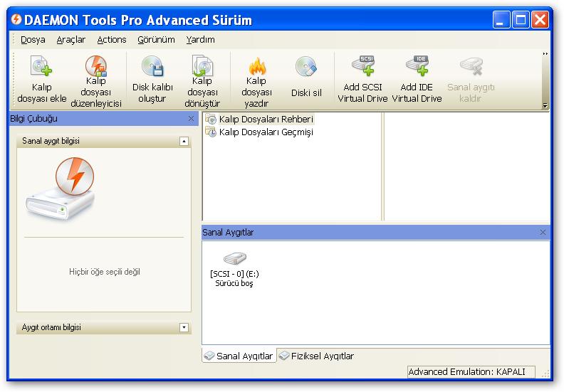 Daemon Tools Pro 5.3.0.0359 Full Sürüm İndir
