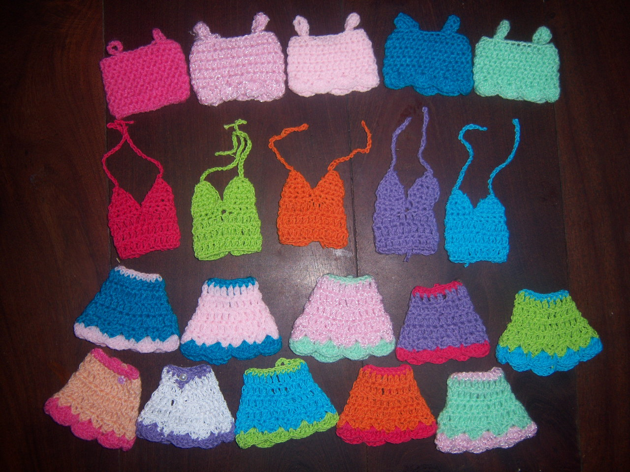Rume Crochet: Ropita para Barbie
