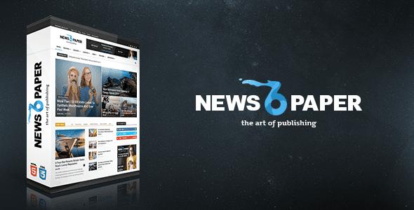 Newspaper V650 Wordpress Themethemeforest Free Wp Wordpress