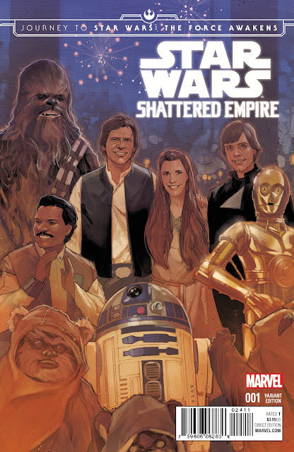 STAR WARS: THE FORCE AWAKENS – SHATTERED EMPIRE #1