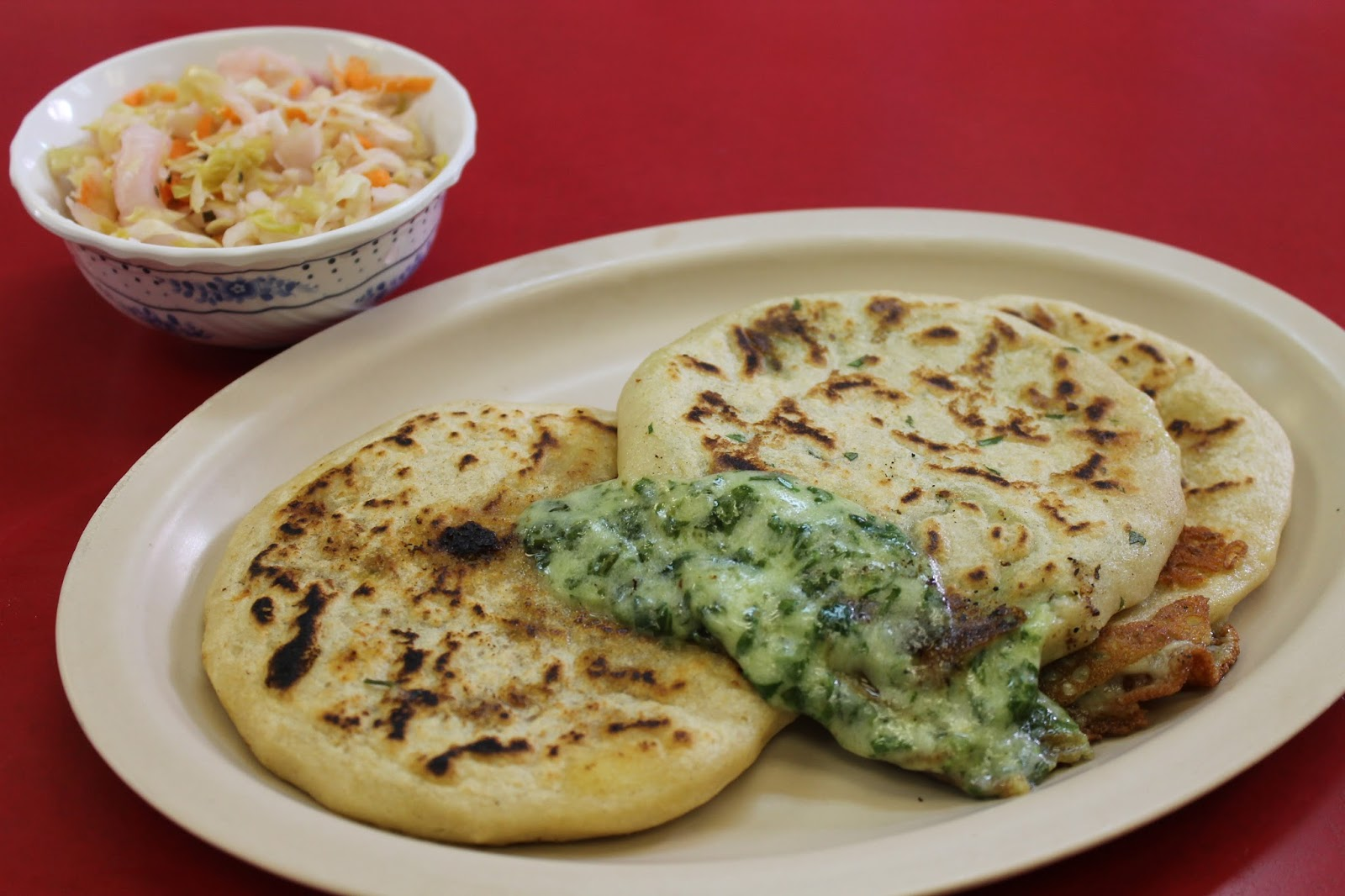 how to say pupusas in english