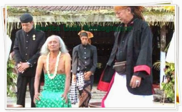 Di Ngawi madiun ada pernikahan manusia dengan peri