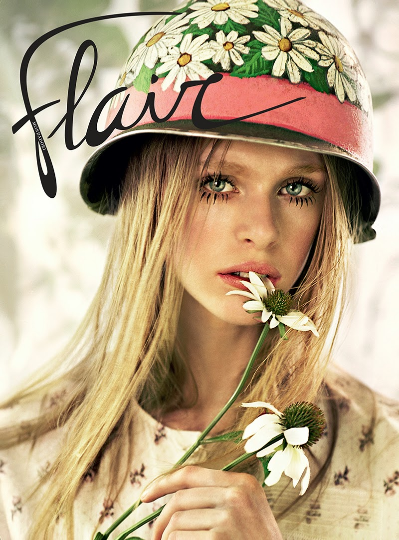 Fashion Model @ Hedvig Palm By Jeff Bark For Flair, April 2015