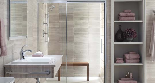 Contemporary bathroom gallery from KOHLER | Exotic House ...