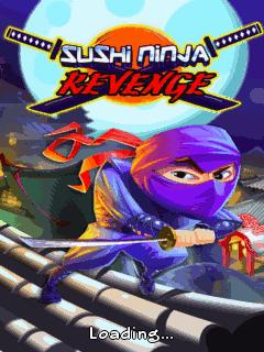 Screenshots of the Sushi ninja revenge for java mobile, phone.