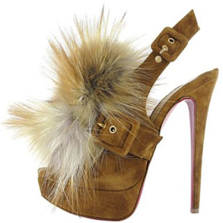 Christian Louboutin fur Splash