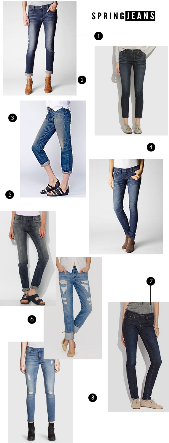 The Best Jeans for Spring 2014 // Bubby and Bean
