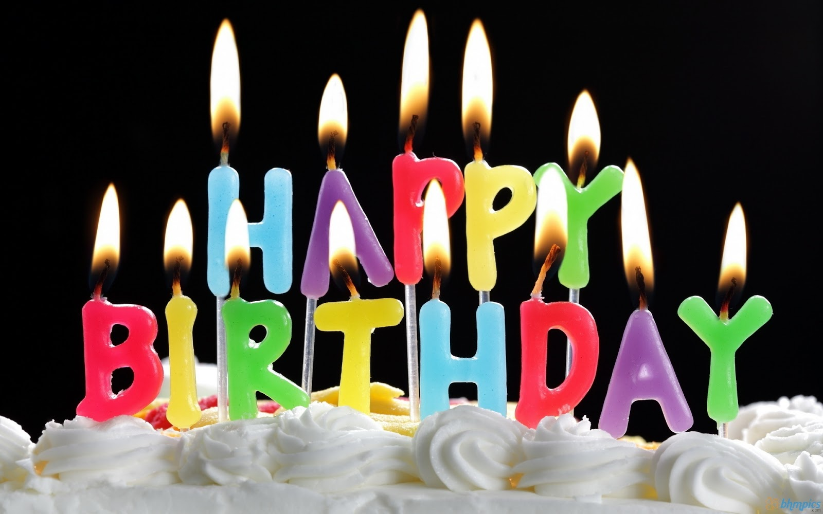 Image Of Birthday Cake With One Candle : Free Download: Birthday Cakes With Candles