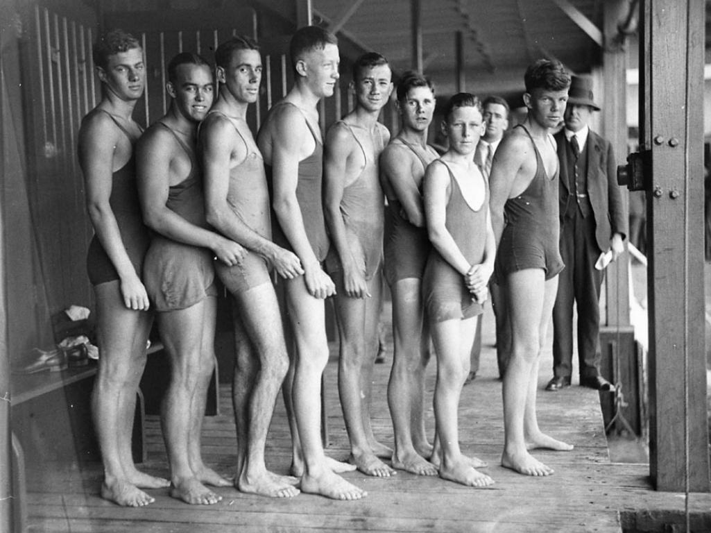 Male nudes of the 1930s