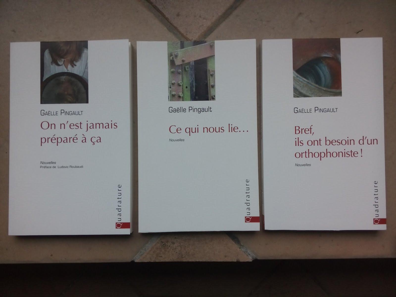 Mes trois premiers recueils