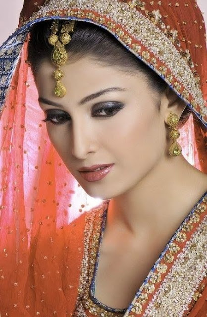 Latest Bridal Pictures Of Beautiful Ayeza Khan