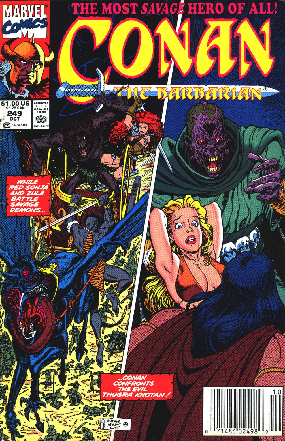 Conan the Barbarian (1970) Issue #249 #261 - English 1