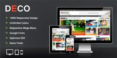 Deco Magz Premium Blogger Template
