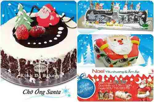 Ưu đãi dịp Noel cùng Kinh Đô Bakery , dia diem an uong 365