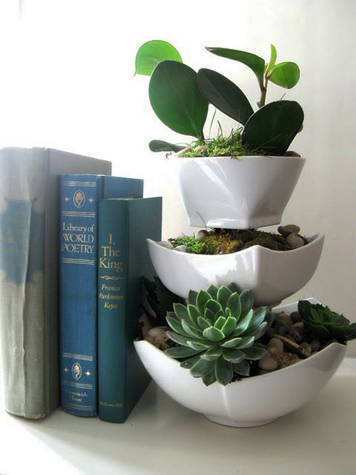 DIY Budget Friendly Tiered Succulent Planter Poppytalk