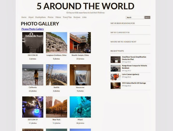 Embed Picasa Gallery in Blogger