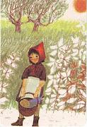 Roodkapje,  Little Red Riding Hood. Klik en je ziet al mijn Roodkapjekaarten