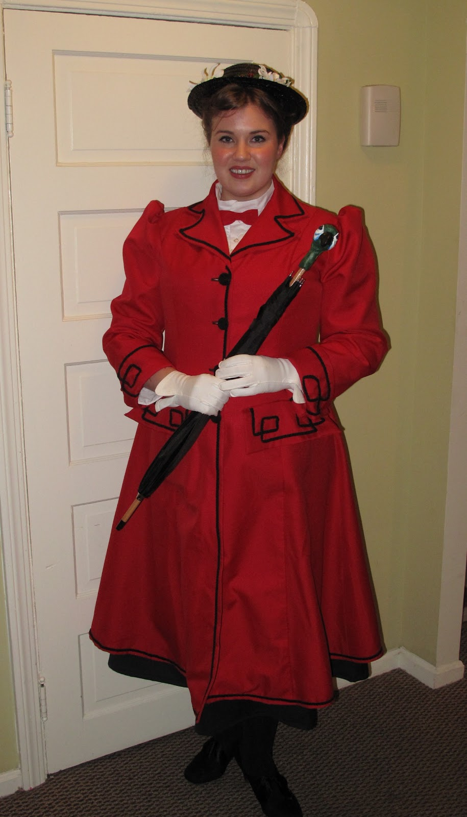 Mary Poppins Halloween Costume Pinterest my Mary Poppins Costume Was