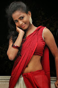 Chaithra setti sizzling in half saree-thumbnail-17