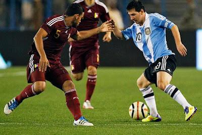 Argentina vs Venezuela eliminatorias
