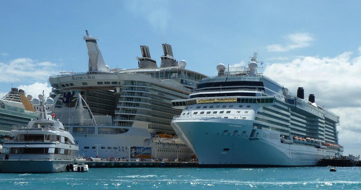 Aspects of cruising on the allure of the seas good and not so good