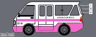 Trayek dan Info Angkot 014 di Tasikmalaya | Kisatasik