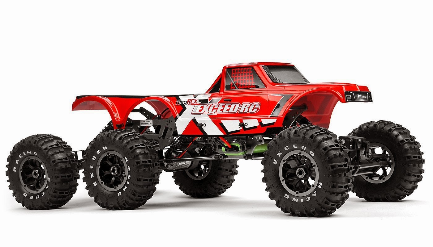 Buy Exceed RC 1/8 scale 6x6 MadTorque Crawler 2.4ghz Ready to Run Lowest Price Now