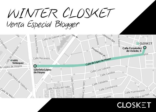 Mapa localizacion venta de ropa