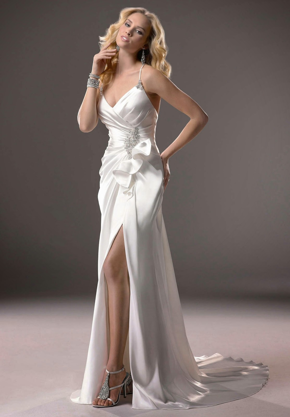 Bridal dresses for Simple wedding dress cheap