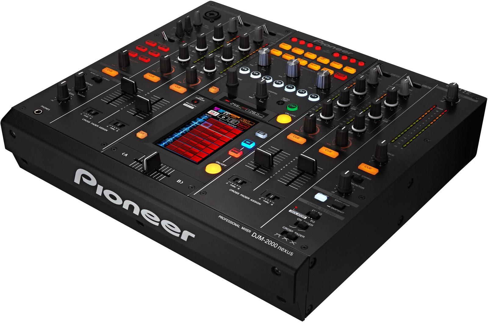 Techno maniac s 7 de los mejores mezcladores para dj - Mesa dj pioneer ...