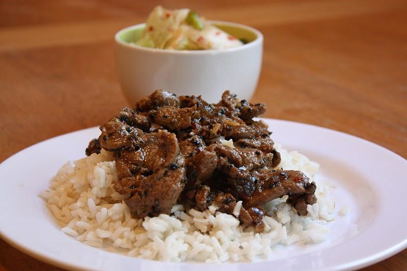Spicy Pork Bulgogi   - Tastes Better From Scratch