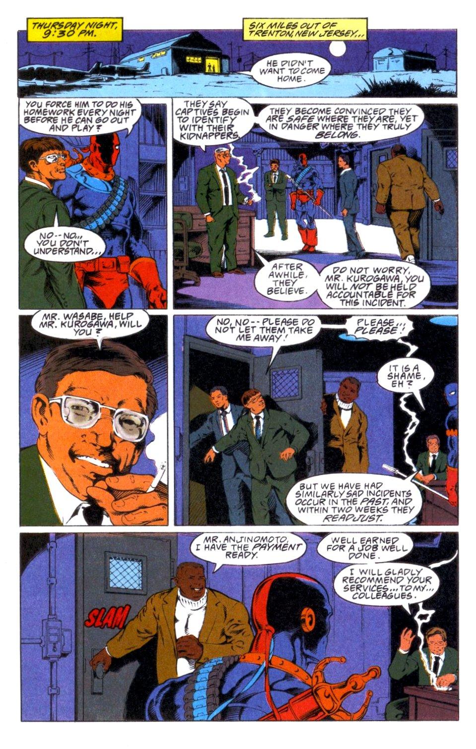 Deathstroke (1991) Annual 1 #1 - English 19