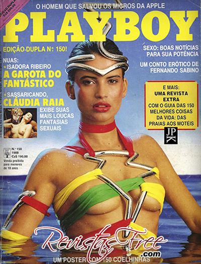 Isadora Ribeiro Revista Playboy Janeiro 1988