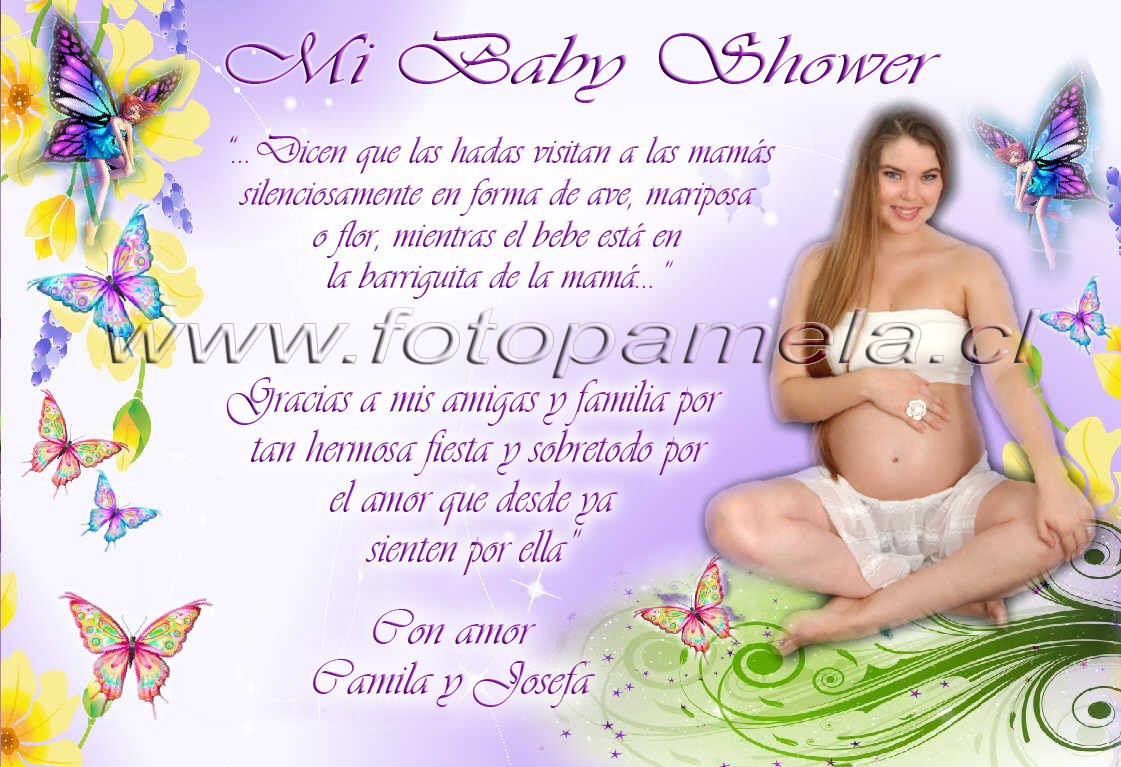 Tarjeta Baby Shower N° 15
