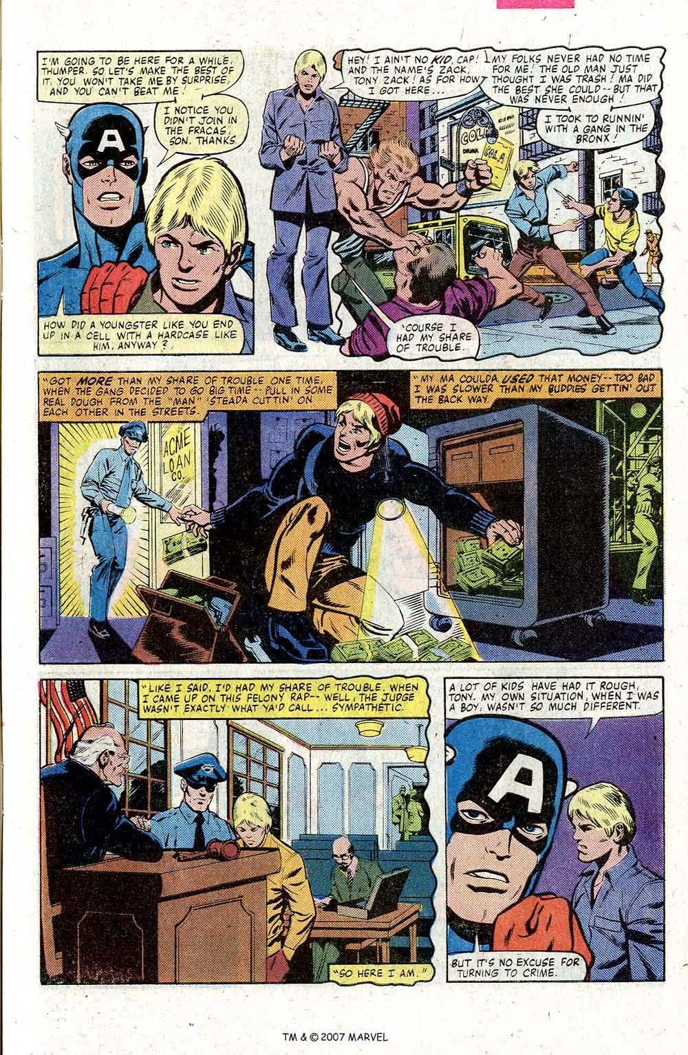 Captain America (1968) Issue #260 #175 - English 7