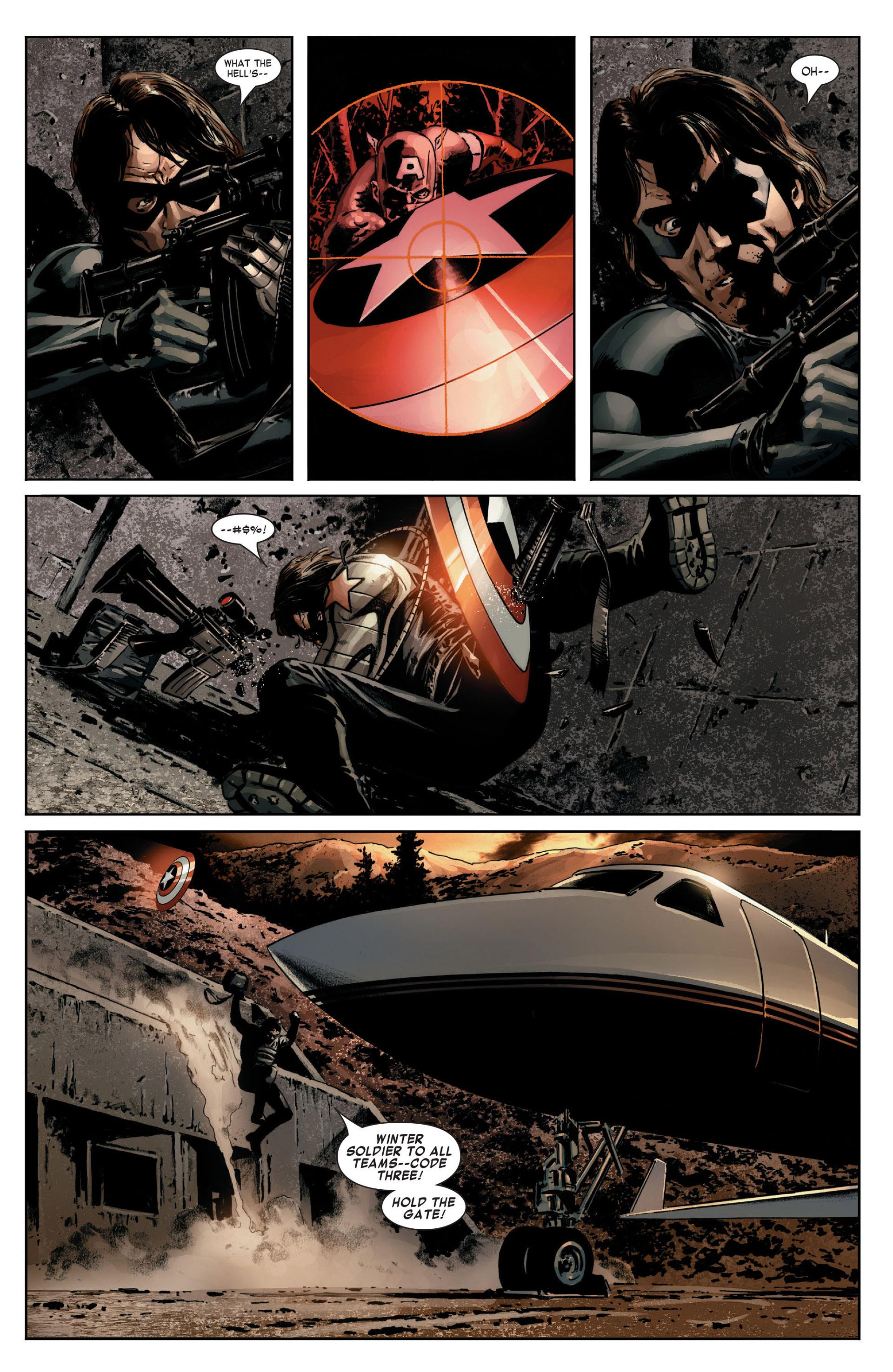 Captain America (2005) Issue #14 #14 - English 3