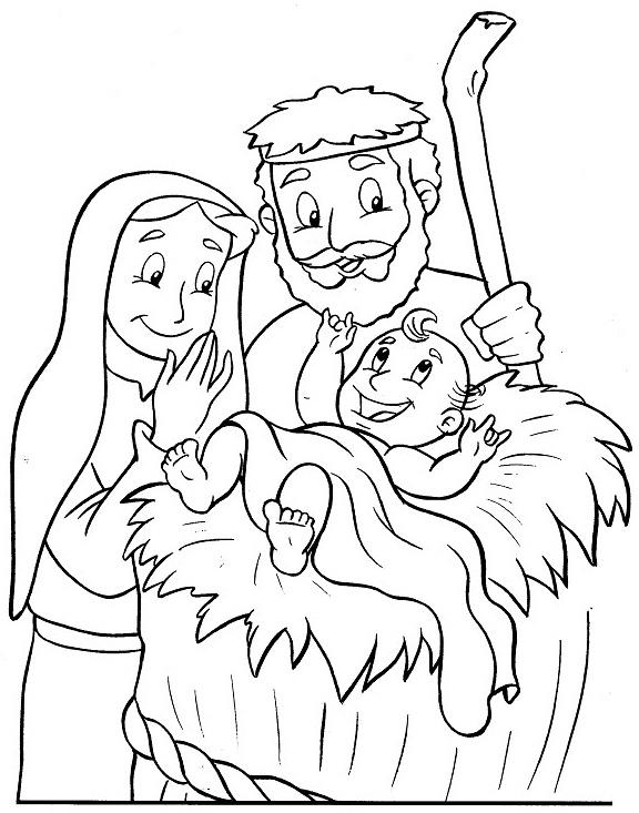 Compartiendo por amor: Dibujos Nacimiento de Jesús