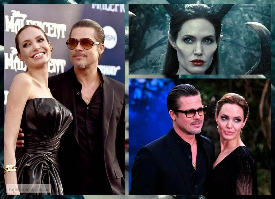 LOOK ANGELINA-BRAD PITT