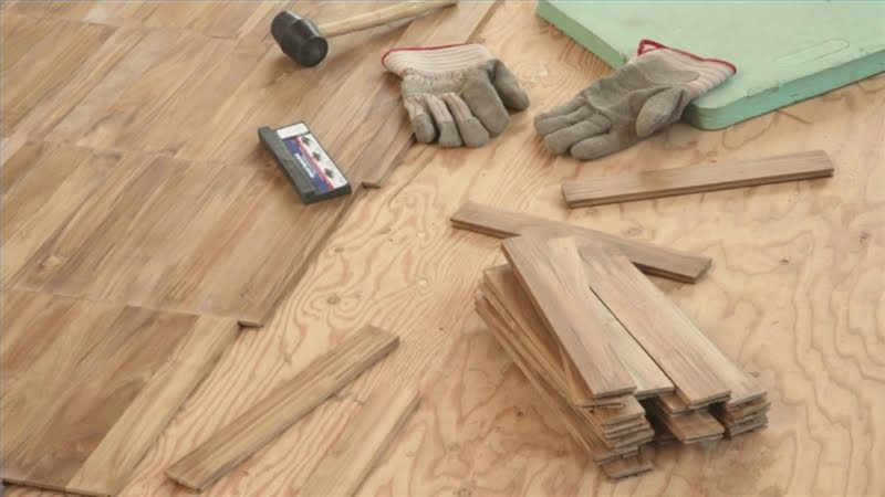 ... when is the right time to install hardwood flooring ? Glad you asked