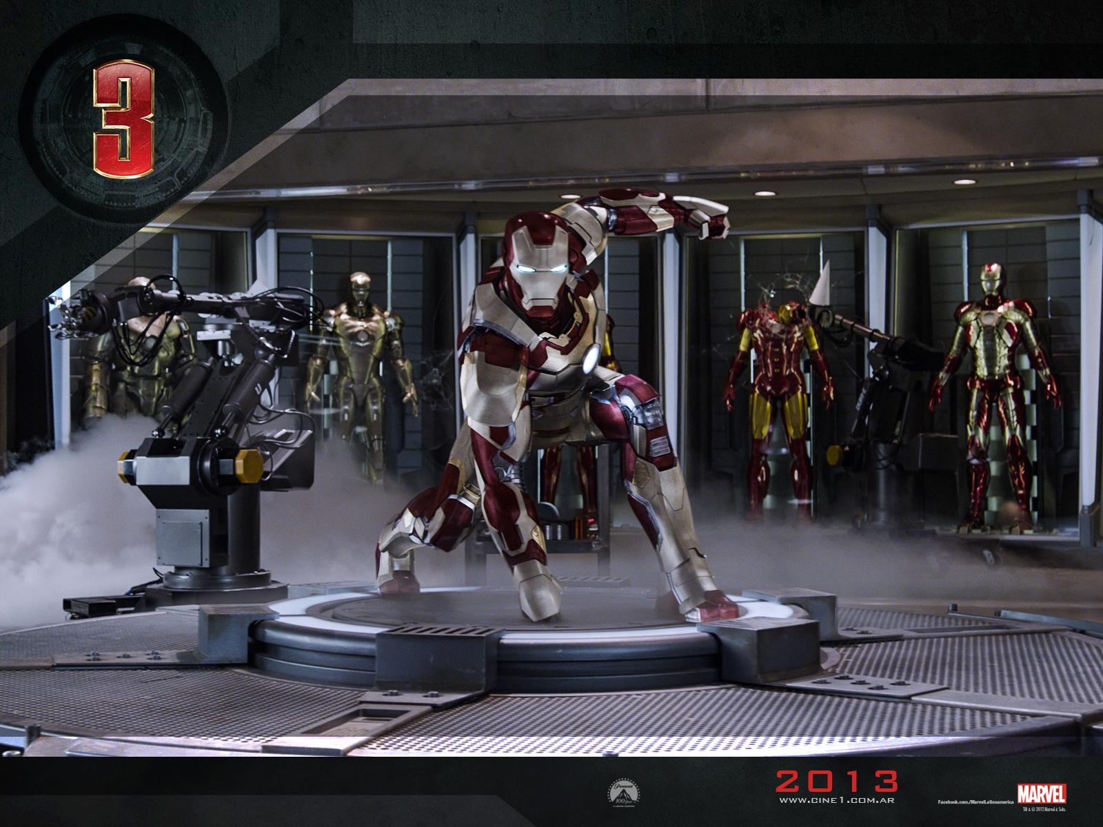 [Mi subida] Iron Man 3 (2013) [DvdRip]