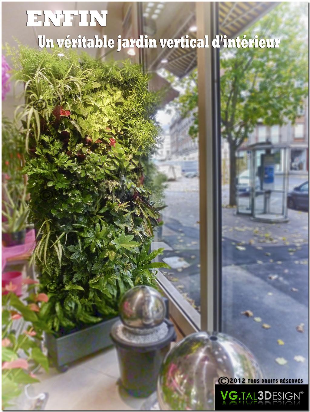 vgtal3design jardin vertical d 39 int rieur. Black Bedroom Furniture Sets. Home Design Ideas