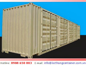 Container Open Side 45 Feet